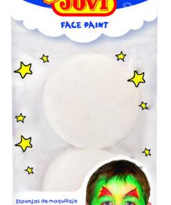 JOVI Hubka - pre použitie na farby na tvár 10 ks