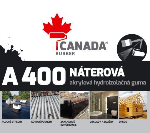 Canada Rubber A400 tekutá guma Šedá