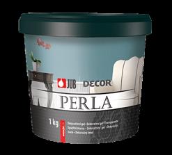 DECOR PERLA - dekoračný tmel na steny 1 kg bronzová