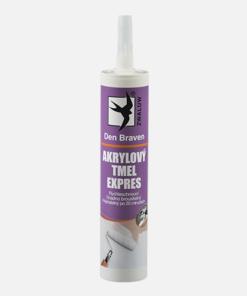 Akrylový tmel EXPRES - odolný a ľahký tmel biela 310 ml