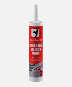 Neutrálny silikón OXIM - tesnenie a lepenie zasklievacích systémov do drevených okenných rámov transparentná 600 ml