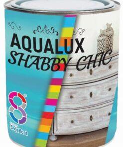 Aqualux shabby chic - kriedová farba pre vzhľad starého dreva 0