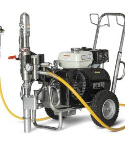 HeavyCoat 970 +SSP benzínový pohon - Hydraulické piestové zariadenie - Vozík striekacie zariadenie vozík