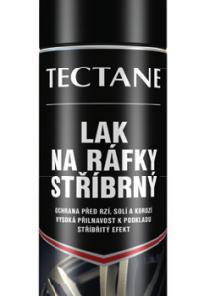 TECTANE - Lak na ráfiky (strieborný) 400 ml