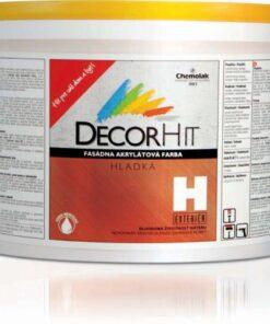 DECORHIT H - farba fasádna hladká 15 kg 0100 - biela