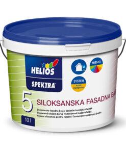 SPEKTRA Siloxanová fasádna farba 10 l báza - biela