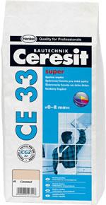 Ceresit CE33 - Biela škárovacia hmota 2 kg 1 - biela