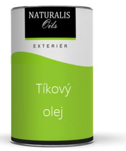 NATURALIS Tíkový olej na drevo - farebný 10 l 2118 - jedľová zeleň