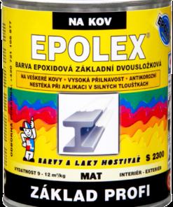 S 2300 EPOLEX PROFI - základná dvojzložková epoxidová farba šedý 1