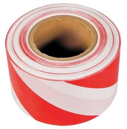 SPOKAR Páska výstražná červeno-biela 80mm x 250 ml