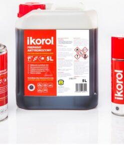 Ikorol - prípravok proti hrdzi na skorodované povrchy pred natieraním 5 l hnedá transparentná