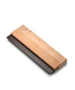 OSMO Gumová stierka pre aplikáciu dvojfarebný náterov 350 mm