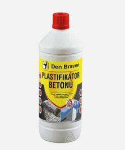 Plastifikátor betónov hnedá 10 l