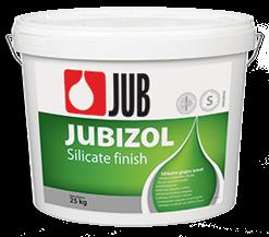 JUBIZOL Silicate finish S - silikátová dekoratívna hladená omietka 25 kg zr. 2mm - biely