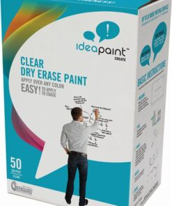 IDEAPAINT CREATE CLEAR - priesvitná whiteboardová farba ipaint sada na 4