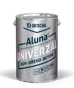 Aluna strieborná - syntetická farba na kov s obsahom hliníka 4 kg hodvábny lesk