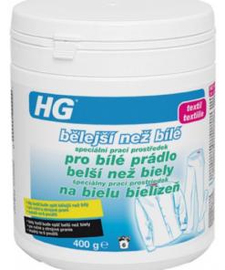 HG407 belší než biely špeciálny prací prostriedok na bielu bielizeň