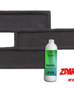 STAMP® Tehla Classic -  Profesionálna raznica na výrobu obkladu tc6 58x 20cm resp. 2 kg