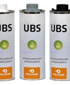 Hmota Polykar UBS ochrana podvozkov a prahov automobilov 1 l šedá