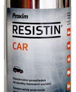 Náter Rezistin CAR - na podvozky áut cierna 0