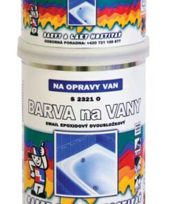 Epoxidová FARBA NA VANE + TUZIDLO 1000 - biela 0