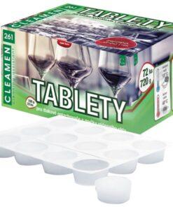 Tablety na reštauračné sklo - tablety CLEAMEN 261 0