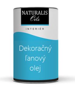 NATURALIS Dekoračný ľanový olej na drevo 10 l 5000 - bezfarebný