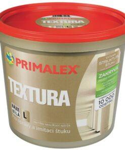 Primalex Textúra - farba napodobnujúca štukovú štruktúru 1 l biela