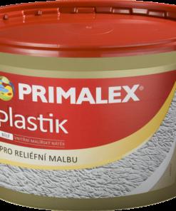 Primalex Plastik - interiérová reliéfna farba biela 7