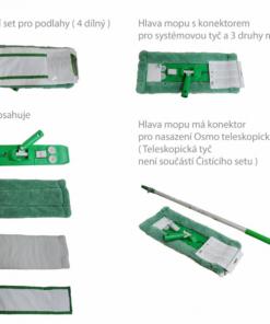 OSMO Čistiaci set na podlahy - 4-dielny