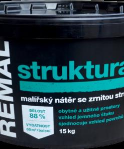 REMAL STRUKTURA - farba s hrubozrnnou štruktúrou biela 4 kg