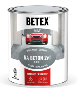 BETEX 2V1 NA BETON S 2131 - farba na betón 5 kg 0440 - modrá