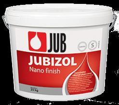 JUBIZOL Nano finish S - samočistiaca silikónová hladená omietka 25 kg zr. 2mm - miešanie