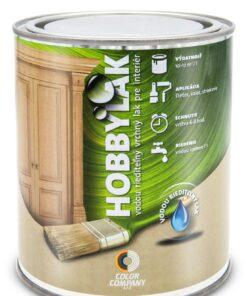 Lak Hobbylak - interiérový lak na drevo 5 l bezfarebný pololesklý