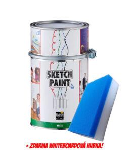SketchPaint - popisovateľná farba na stenu (whiteboard) 1 l tranparentná lesklá