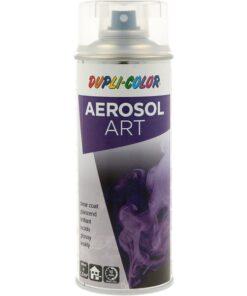 Aerosol-Art - rýchloschnúci bezfarebný akrylátový lak v spreji 400 ml transparentný - lak matný