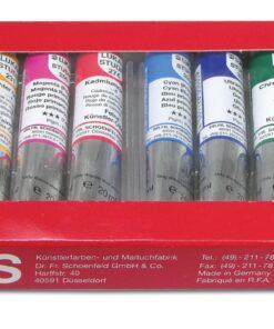 LUKAS Olejové farby STUDIO 12x20ml - sada základných farieb súprava 12x20 ml