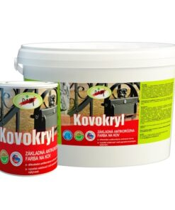 PAM Kovokryl - Základná antikorózna farba na kov palisander 15 kg