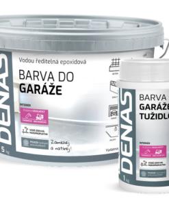 DENAS GARÁŽ - epoxidová 2 zložková farba na podlahu 5kg (+1kg tužidlo) ral 7040 - šedý