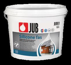 SILICONE FAS - silikónová mikroarmová fasádna farba biely 15 l