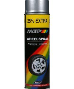 MOTIP AUTO - Sprej na disky kolies 500 ml čierny matný
