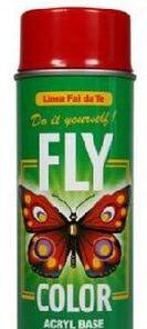 FLY COLOR - základná akrylová farba v spreji 400 ml základ červenohnedý