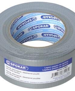Spevnená páska lepiaca na opravy 50mm x 50m Spokar 50mm x 50