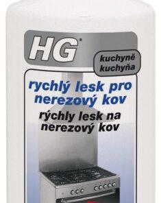 HG Rýchly lesk na nerezový kov 125 ml 482