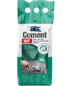 HET Cement biely 25 kg