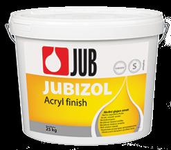 JUBIZOL Acryl finish S - akrylátová dekoratívna hladená omietka 25 kg zr. 2