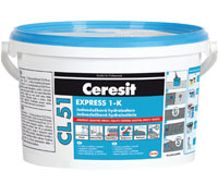 Ceresit CL51 1K  hydroizolácia 1 zložková  5 kg