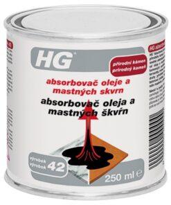 HG Absorbovač oleja a mastných škvŕn 250 ml 470
