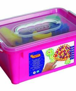 JOVI BOX - Prstové farby sada v kýbliku /šablóny