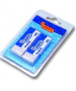 JOVI Guma PLASTIC - 2ks v blistri balenie
